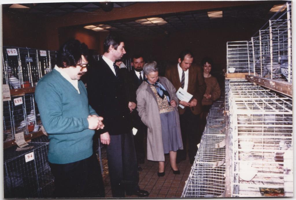 1ere expo en 1987
